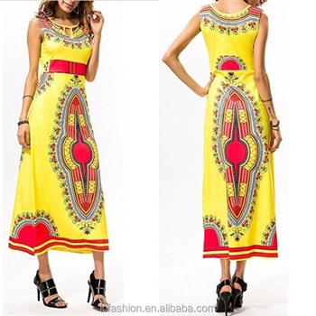 kitengeファのドレスデザインアフリカ女性2016最新アフリカファッション