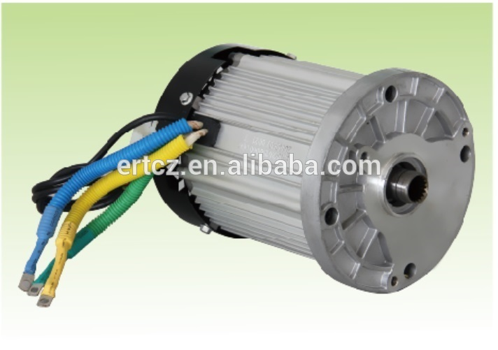 96v 5kw dc electric car motor