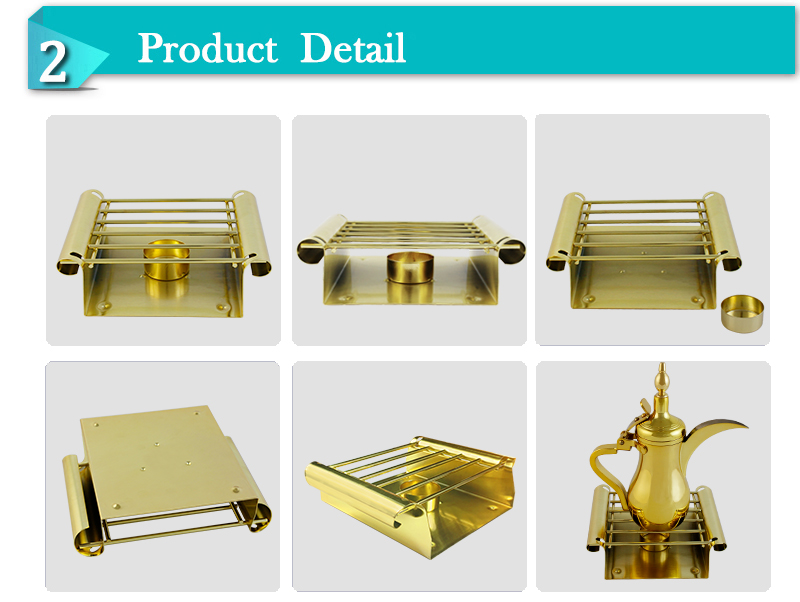 Special gift promotional dallah square warmer