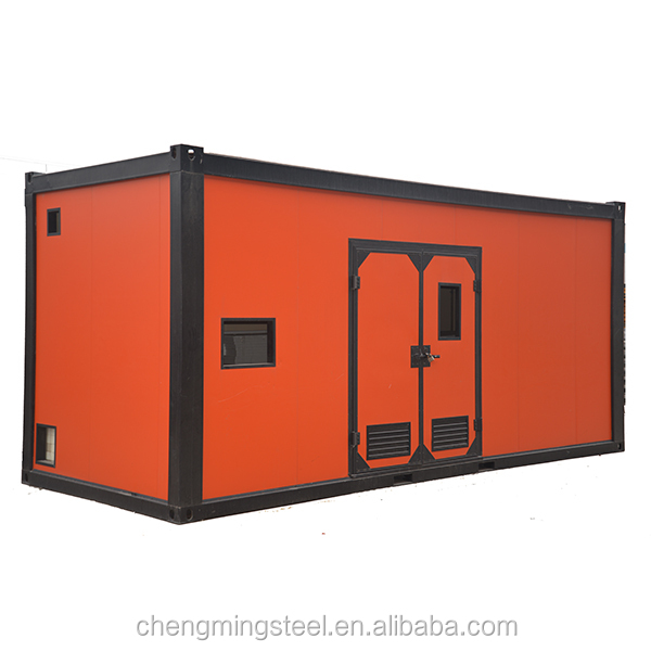 Best quality PU sanwich panel prefab container house/ container freezer