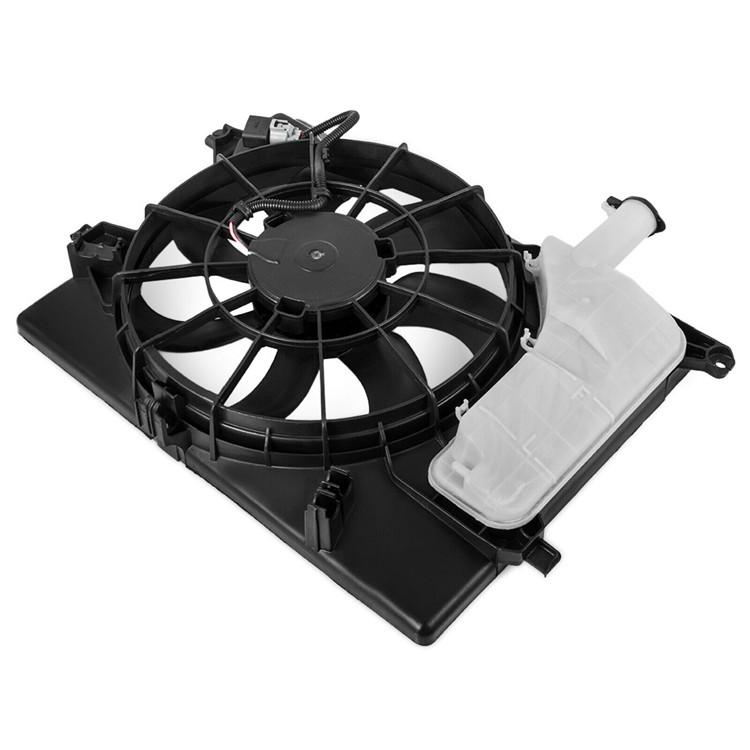 A//C Condenser Cooling Fan For 2011-2013 Hyundai Elantra 2014 Kia Forte
