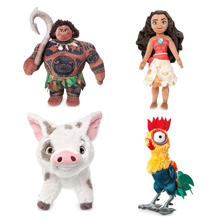 New Cartoon Film Doll Maui Pua Heihei Kakamora Moana