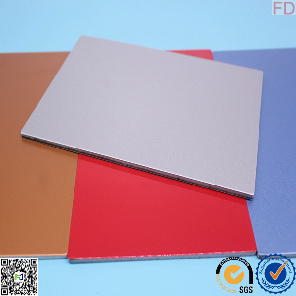 4mm PVDF/PE Coated Aluminum Composite Panel for Exterior Wall Cladding