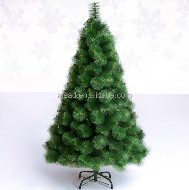 Fast sell!! 270cm Pine needles Christmas tree 300 tips with iron base