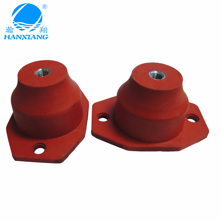 High quality wholesale isolator rubber shock absorber rubber/silicone vibration dampers for generator/motorcycle