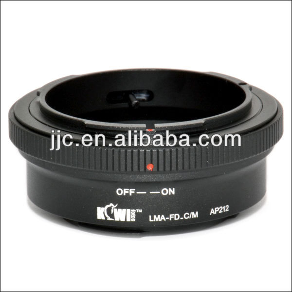Kiwifotos Lens Mount Adapter for Canon FD Lens for Canon EOS EF-M Camera Mount Adapter