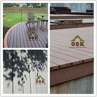 Natural Wood Hollow Europe Standard Outdoor WPC Decking