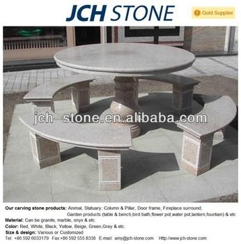 granitplatten garten, garten steintisch und baenke granit-tisch - buy granit-tisch,garten, Design ideen