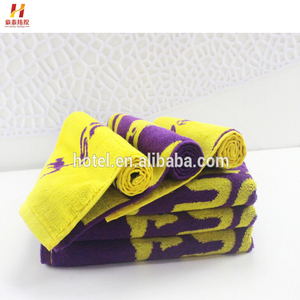 Wholesale OEM Personalized Cotton Sports Sweat Towel With Custom Logo Low Price