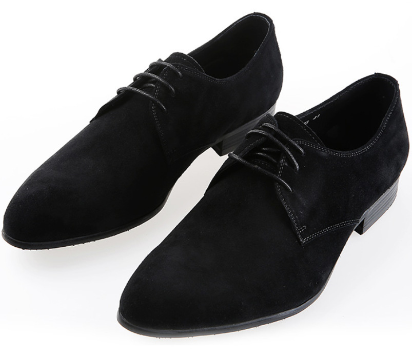 Suede Back mens business shoes genuine leather wedding shoes formal mens dress shoes flats casual loafers shoes 507
