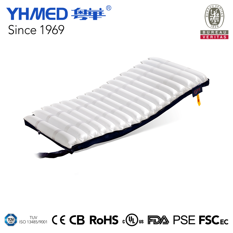 Hot sales 0.3mm air white customized medcial anti bedsore medical mattress