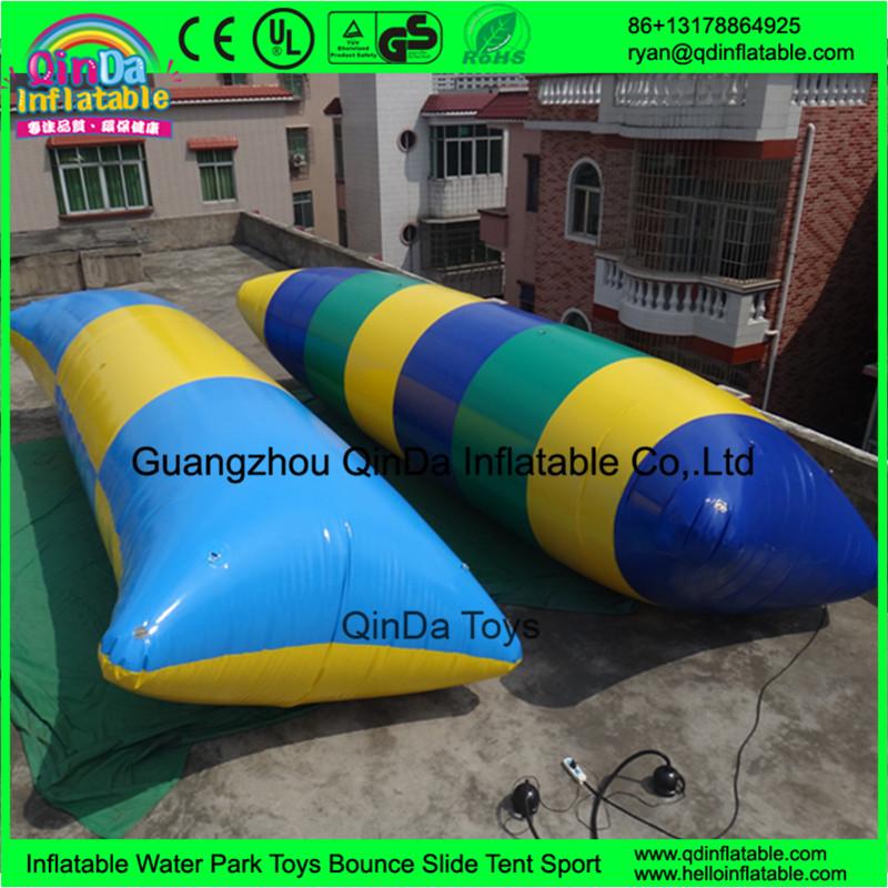 New Arrival Aqua Lake Jump Bag Inflatable Water Launcher Crazy ...
