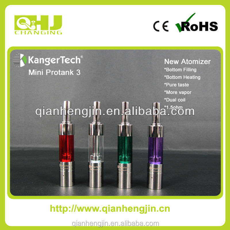 hot saleing 1.5ml Kangertech Mini Protank 3 Clear atomizer china supplier