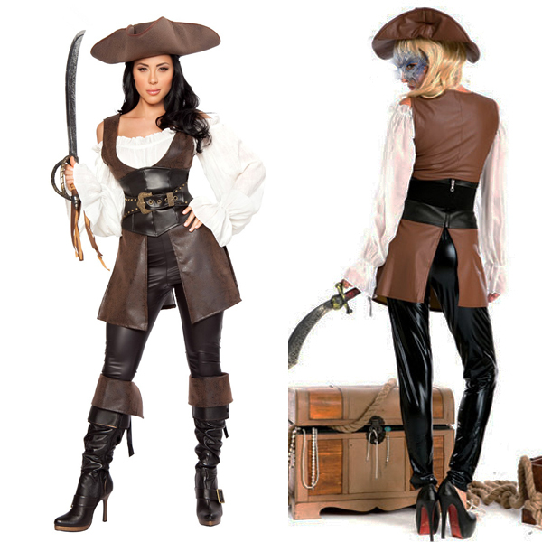 Standard;One Size RG Costumes 18113 Pirate Lady