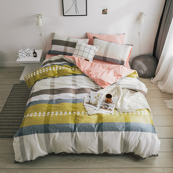 China Factory Russian Bed Linen Home Use Sheet Bedding Sets Pure Cotton Disposable