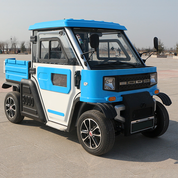 Electric four-wheeler pickup truck adult travel truck home electric car goods king
