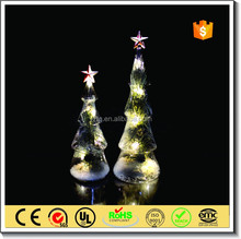 chritsmas party supplies led glass christmas tree