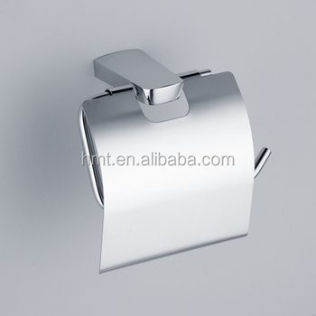 Br Chrome Toilet Roll Holder Paper Tissue With Cover