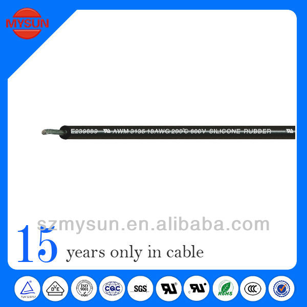 High temperature resistant flexible cable electric cable manufacturer