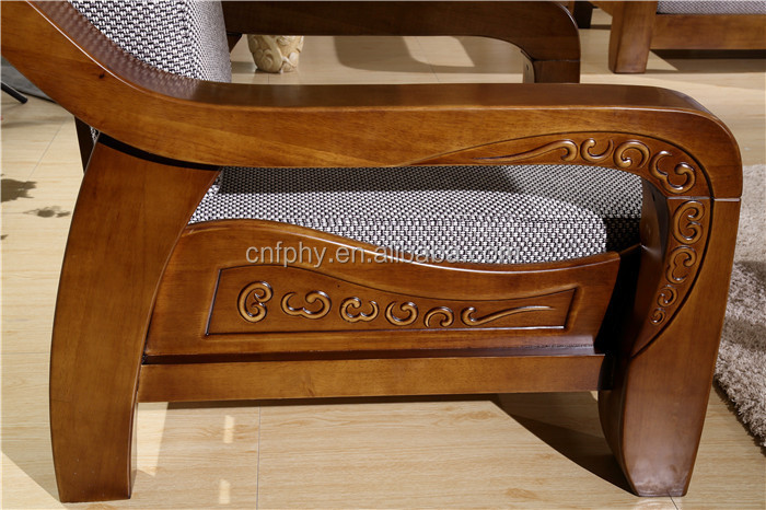 Stunning Fphy Living Room Furniture Solid Wood Sofa Set With Wooden Sofa  Designs For Drawing Room.