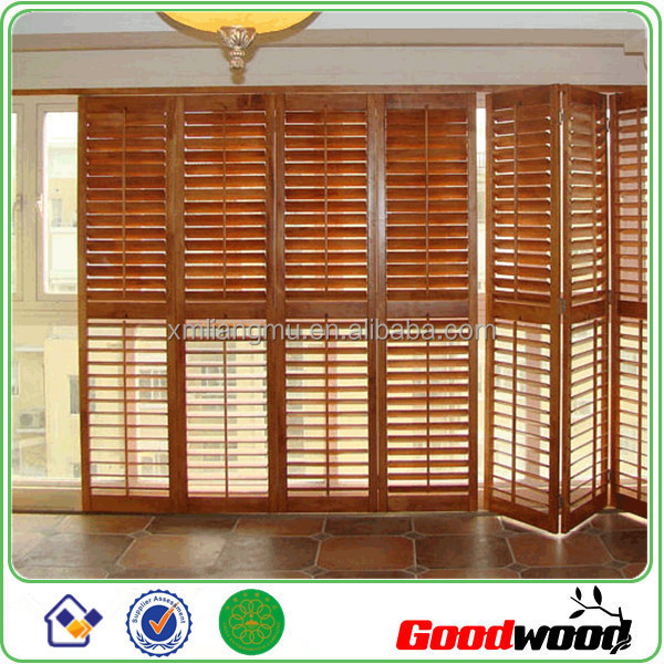 Interior Folding Window Shutter   Buy Interior Folding Window Shutters,Decorative  Interior Shutters,Stained Wooden Plantation Shutter Product On Alibaba.com