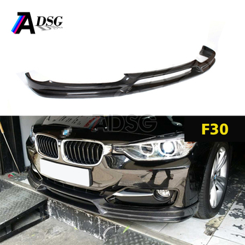 Front Bumper Lip F30 Front Lip Car Carbon Splitter For Bmw F30 Buy