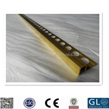 Hot Ing Turkey Stainless Steel Tile Trim Profile Metal Corners