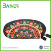 Promotional OEM design pretty pattern soft cosmetic bag