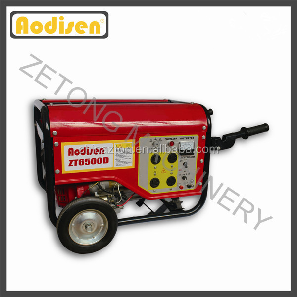 13hp gasoline engine portable generator ohv 6500