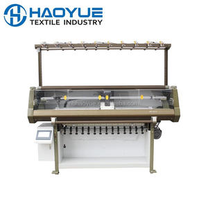 NINGXING Automatic computerized flat knitting machine for collar cuff make with 52inch 80inch