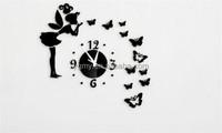 Wall Clock Wall Sticker Home Decor Living Room 60 * 60CM