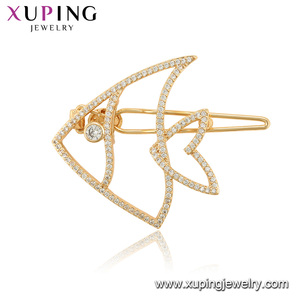 00269 xuping animal fish shaped barrette, thai bridal hair accessories wedding jewelry with price