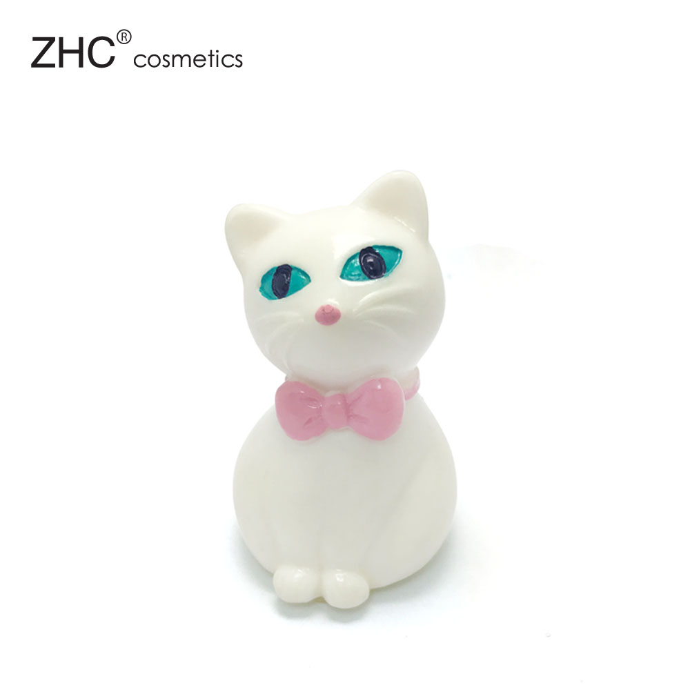 CC36172 Reizende tier cat form lipgloss container großhandel lipgloss