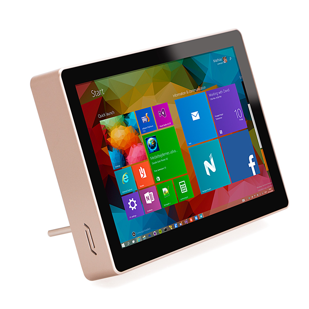 8 inch intel z3850 Desktop& all in ones RAM4G 64G win dows tablet pc with WIFI H DMI