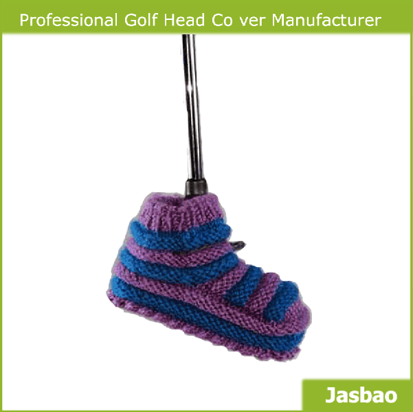 Custom Made Knitted Golf Club Head Cover
