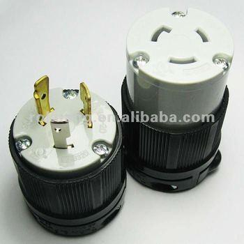 Nema L5-30p Locking Plug/connector - Buy Locking Plug ...