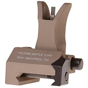 Troy Industries Front Folding Tritium M4 Style Battle Sight (Flat Dark Earth)