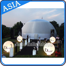 Inflatable Air Dome Tent, Outdoor Inflatable Yurt/Ger For Camping