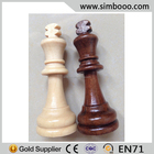 Two Colours Wooden Chess Pieces for Sale Manufacturer