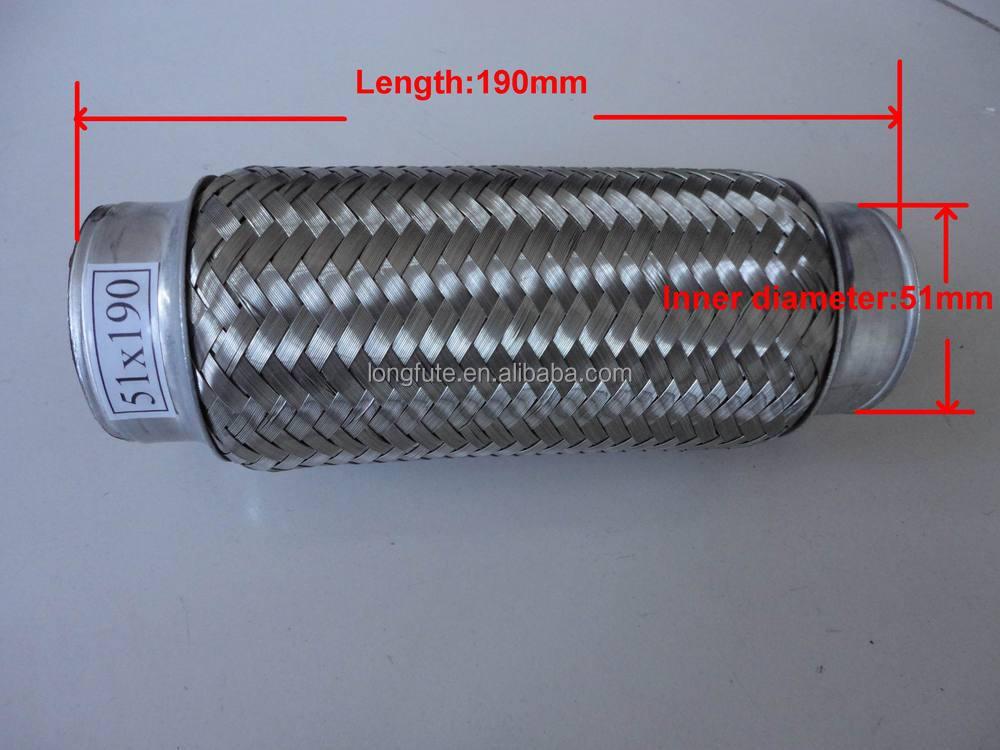 Truck Spark Arrestor : Truck spark arrestor exhaust flexible pipe with inner
