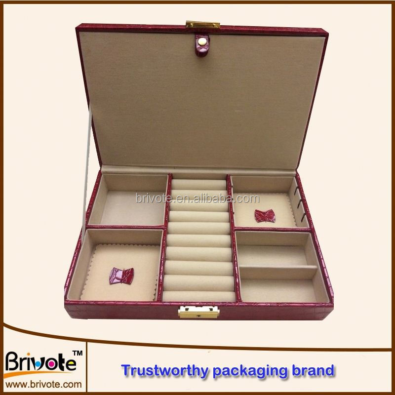 hot stamping foil faux leather book safe box/leather packaging box for jewelry/logo printed leather jewelry boxes wholesales