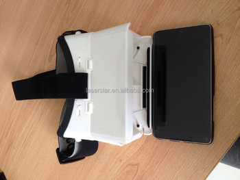 2015 Plastic VR Cardboard Google for 3.5'' to 5.7'' Cellphone