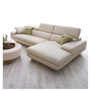 Modern Italian Natuzzi Leather Sofa