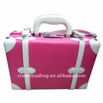 4f69d65977f8 Pink Mini Suitcases - Buy Mini Suitcases,Mini Leather Suitcase,Pink Leather  Suitcase Product on Alibaba.com
