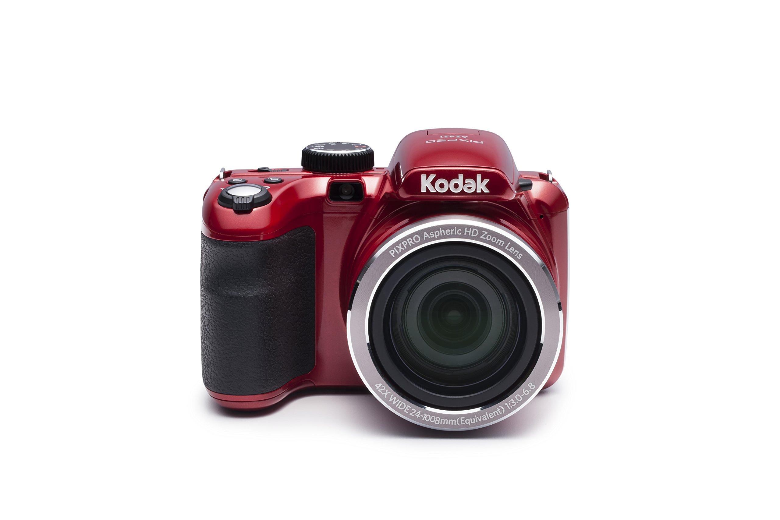Navitech Black DSLR /& Lens Camera Bag Case For/Kodak AZ421-RD PIXPRO Astro AZ421 16 MP Digital Camera with 42X Optical Zoom and 3 LCD Screen