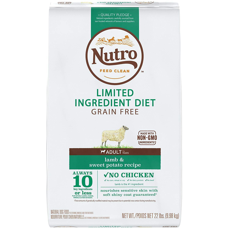 NUTRO Limited Ingredient Diet Adult Dry Dog Food Lamb
