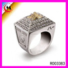 China wholesale supplier Custom fantasy football championship rings for sale