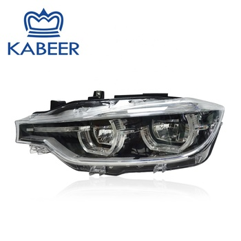 kabeer aftermarket 3 series LED car headlight for F30 LED 2016 assembly headlight auto lamps manufacturer