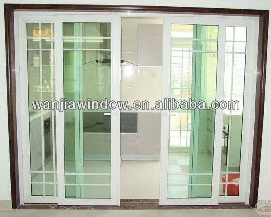 Balcony Grill Designs Pvc Door
