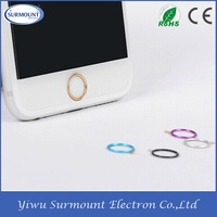 Universal metal home touch ID key button Touch ID Fingerprint Identify Sticker button